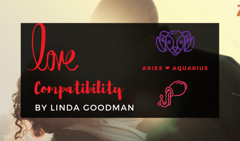 Aries And Aquarius Compatibility From Linda Goodman's Love Signs
