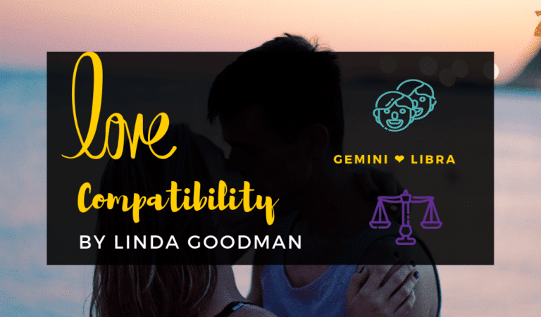 Gemini And Libra Compatibility From Linda Goodman's Love Signs