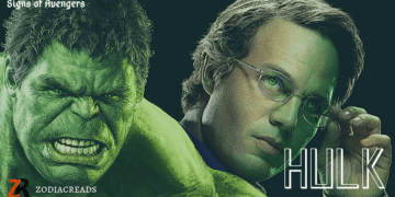 Zodiac Sign of HULK Avengers Zodiac