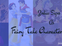 Zodiac Signs as Fairy Tale Characters Zodiacreads