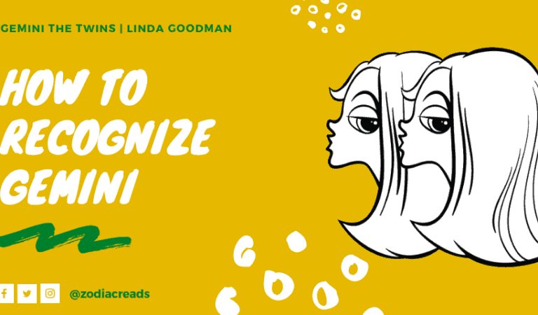 How to Recognize GEMINI, Gemini the Twins by Linda Goodman
