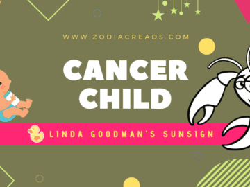 The Cancer Child Linda Goodman Zodiacreads