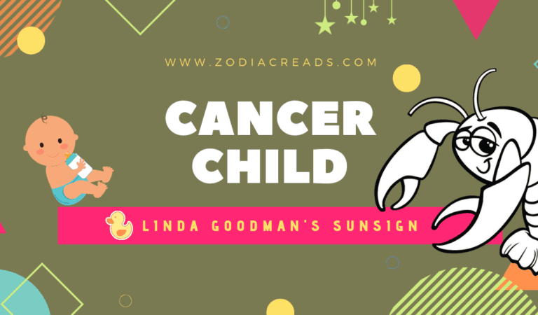 The CANCER Child, Cancer the crab by Linda Goodman