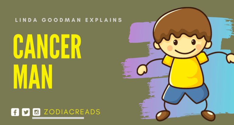 The Cancer Man Linda Goodman Zodiacreads