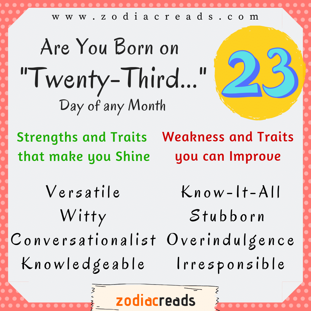 numerology number 23