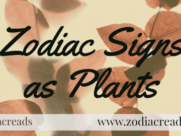 Zodiac Sign as Plants