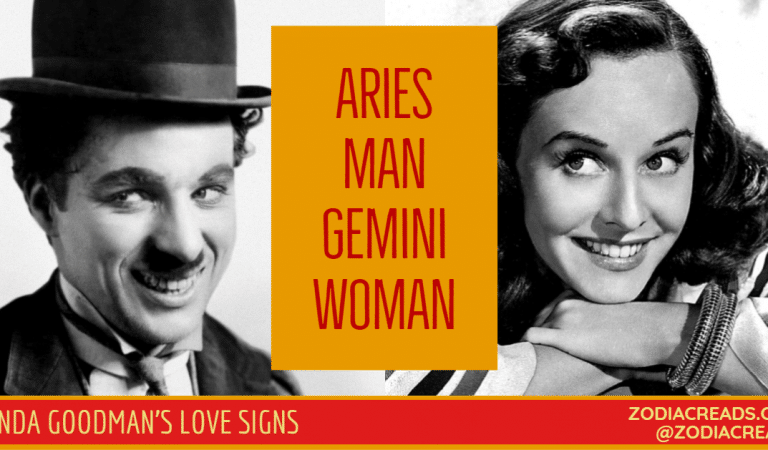 Aries Man and Gemini Woman Compatibility From Linda Goodman's Love Signs