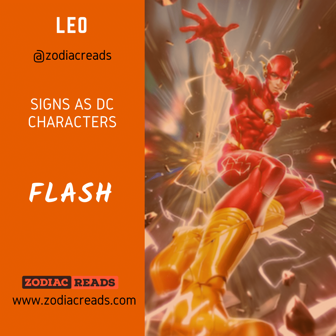 5 Leo Flash Signs as DC Character Zodiac Reads