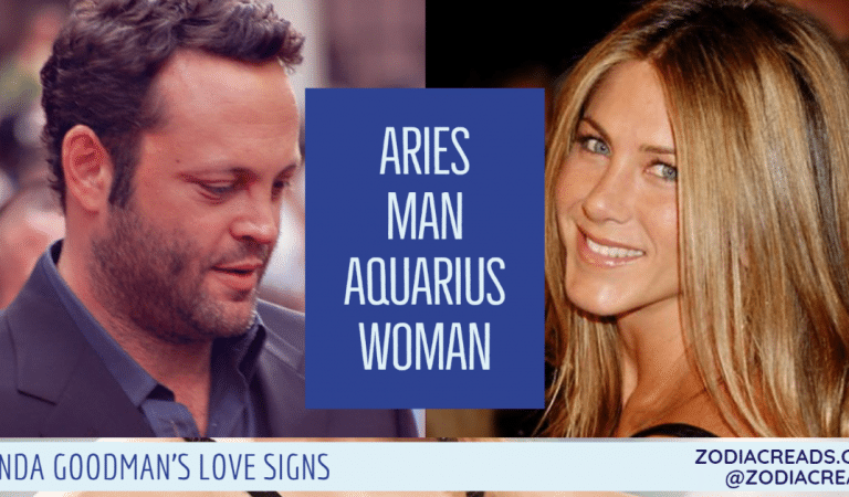Aries Man and Aquarius Woman Compatibility From Linda Goodman's Love Signs