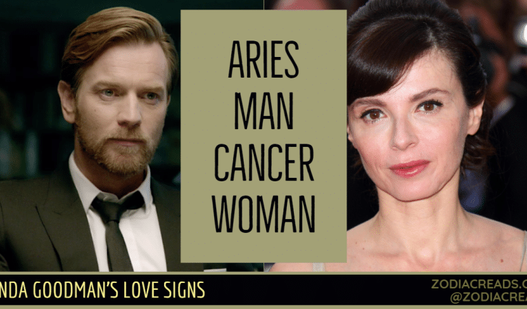 Aries Man and Cancer Woman Compatibility From Linda Goodman's Love Signs