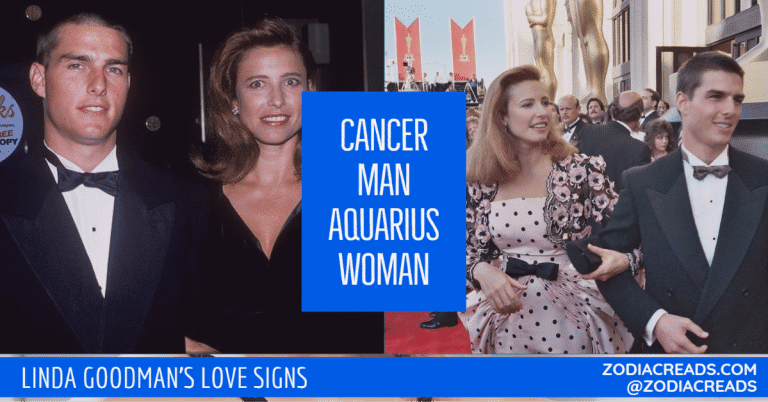 Cancer Man and Aquarius Woman Compatibility LINDA GOODMAN ZODIACREADS