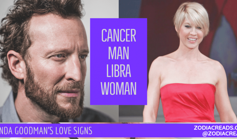 Cancer Man and Libra Woman Compatibility From Linda Goodman's Love Signs