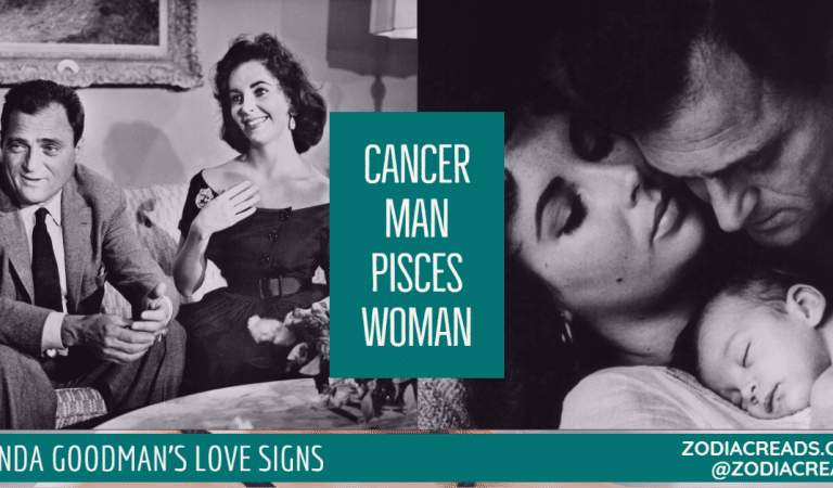 Cancer Man and Pisces Woman Compatibility From Linda Goodman's Love Signs