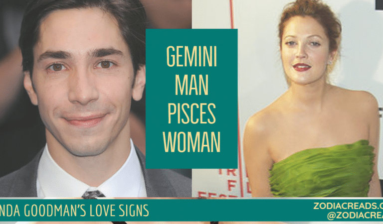 Gemini Man and Pisces Woman Compatibility From Linda Goodman's Love Signs
