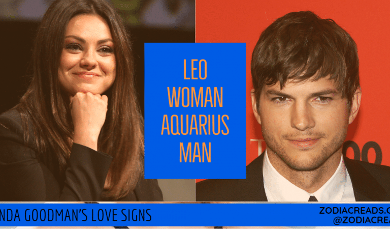 Leo Woman and Aquarius Man Compatibility From Linda Goodman's Love Signs