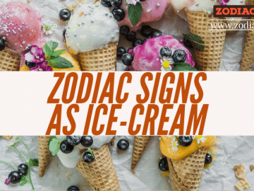 Zodiac signs as ice cream zodiacreads