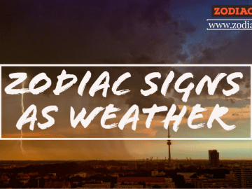 Zodiac Signs as Weather by Zodiacreads