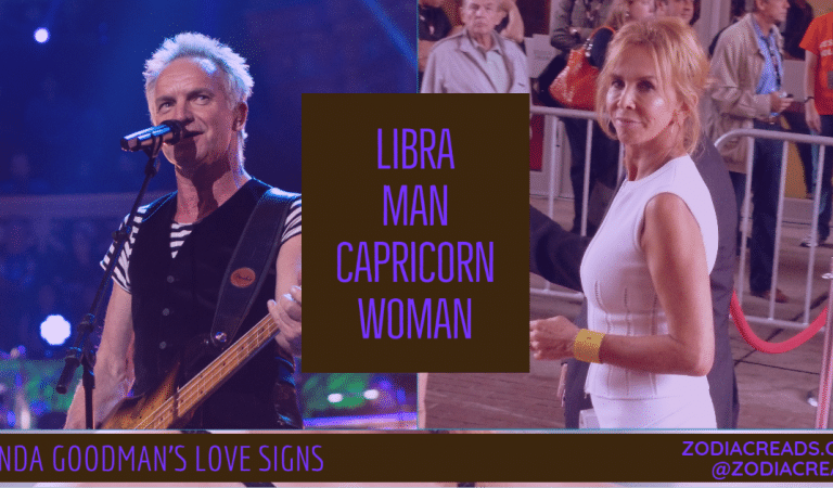 Libra Man and Capricorn Woman Compatibility From Linda Goodman's Love Signs