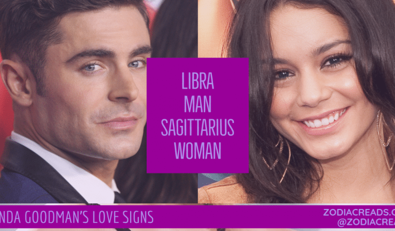 Libra Man and Sagittarius Woman Compatibility From Linda Goodman's Love Signs