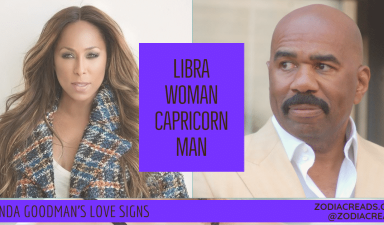 Libra Woman and Capricorn Man Compatibility From Linda Goodman's Love Signs