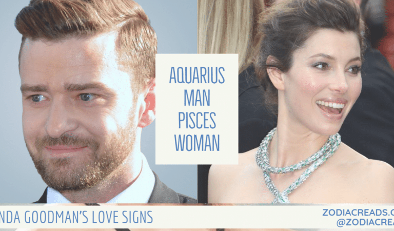 Aquarius Man and Pisces Woman Compatibility From Linda Goodman's Love Signs