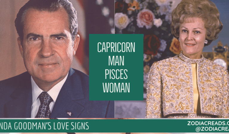 Capricorn Man and Pisces Woman Compatibility From Linda Goodman's Love Signs