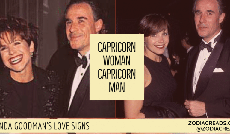 Capricorn Woman and Capricorn Man Compatibility From Linda Goodman's Love Signs