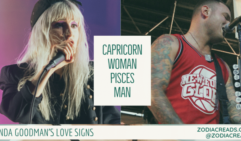 Capricorn Woman and Pisces Man Compatibility From Linda Goodman's Love Signs