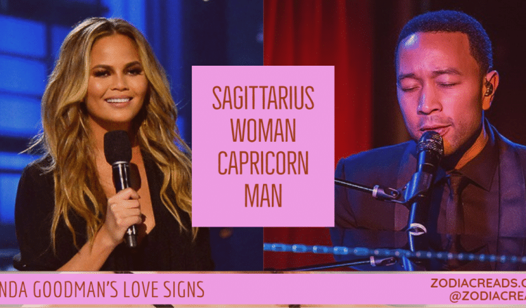 Sagittarius Woman and Capricorn Man Compatibility From Linda Goodman's Love Signs