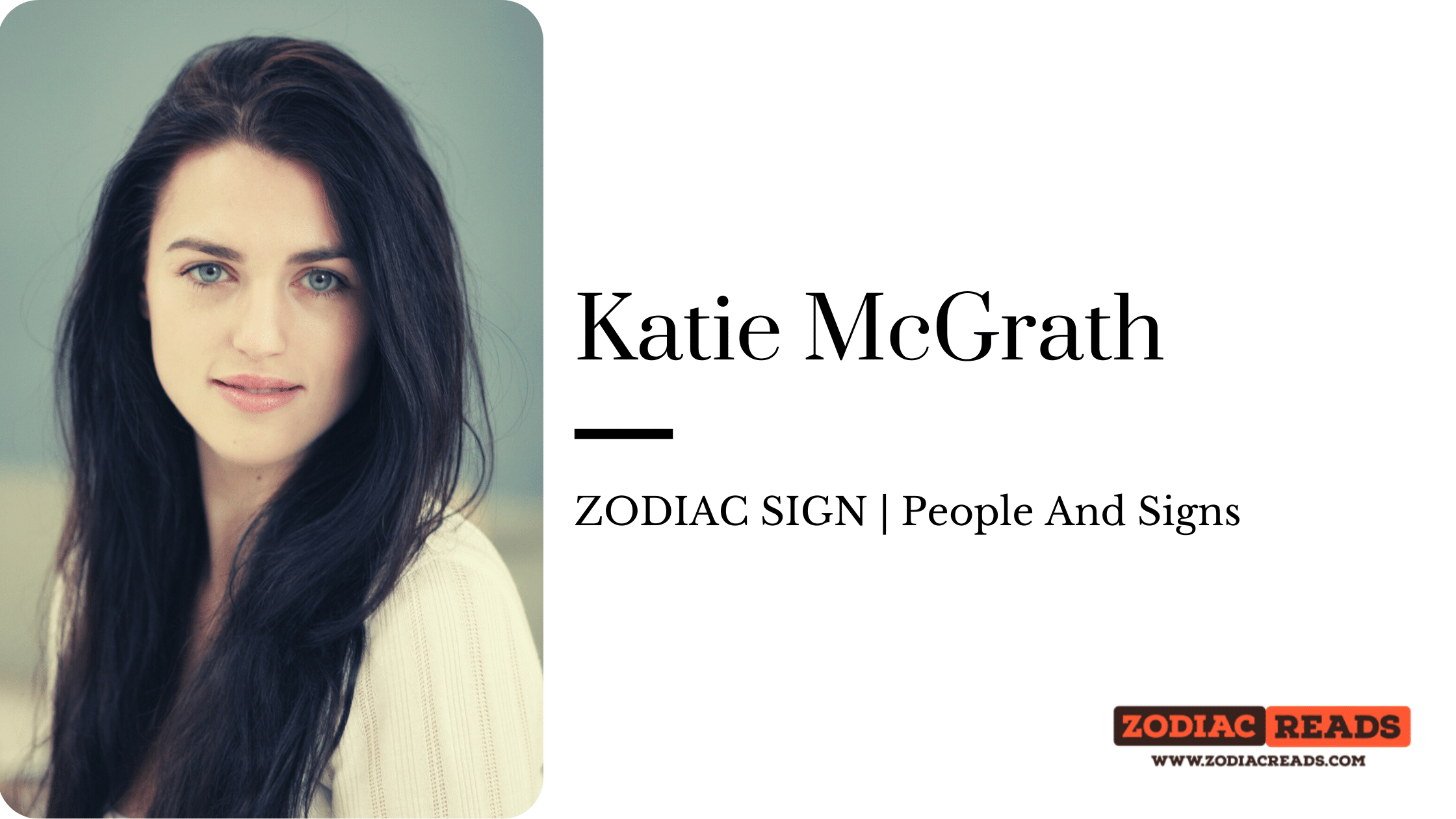 Katie McGrath zodiac