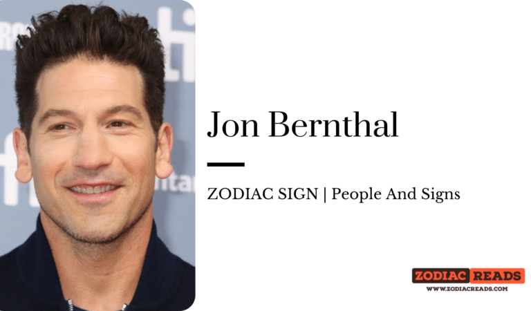 Jon Bernthal- ZODIAC SIGN | People And Signs