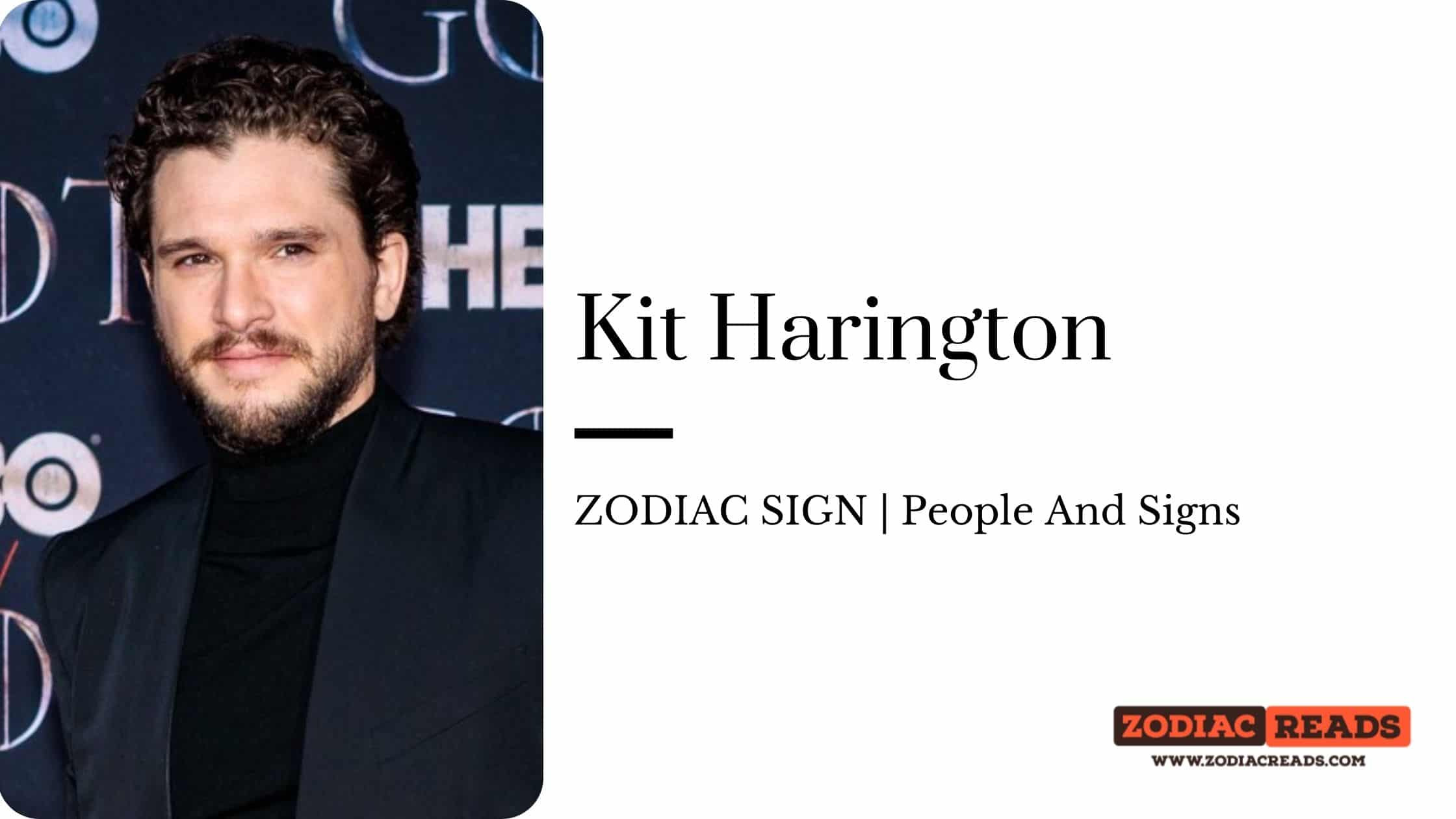 Kit Harington zodiac