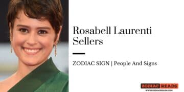Rosabell Laurenti Sellers zodiac
