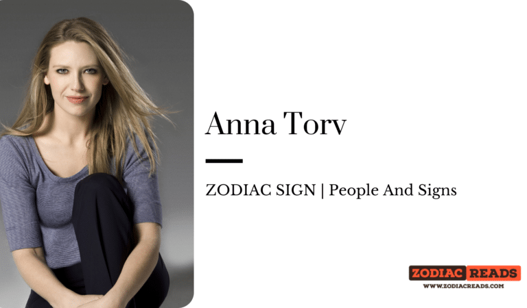 Anna Torv- ZODIAC SIGN | People And Signs