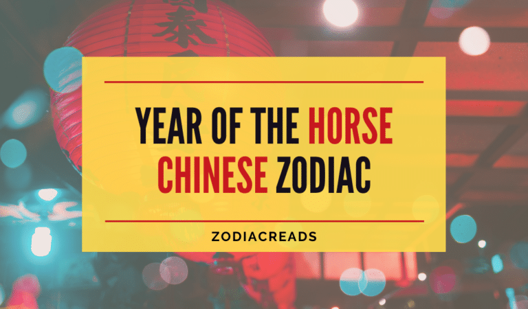 Year Of The Horse – Chinese Zodiac Sign