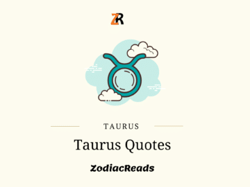 Taurus Personality Quotes Zodiacreads